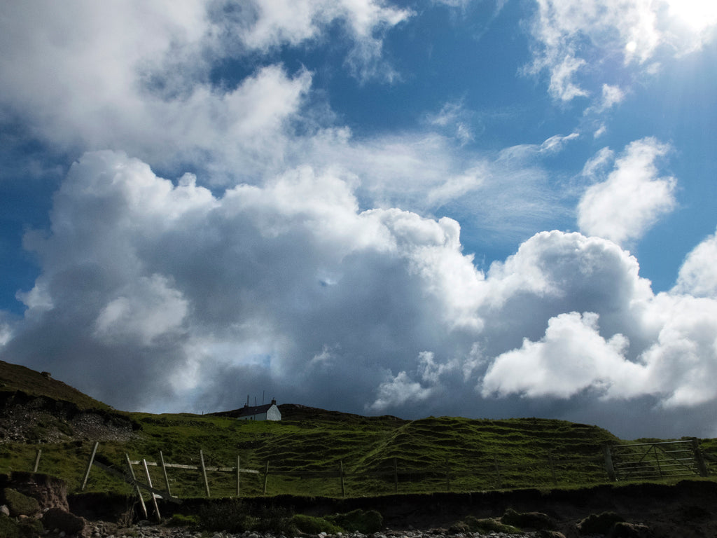 Clouds over the Croft, Sutherland, Scotland, 2014