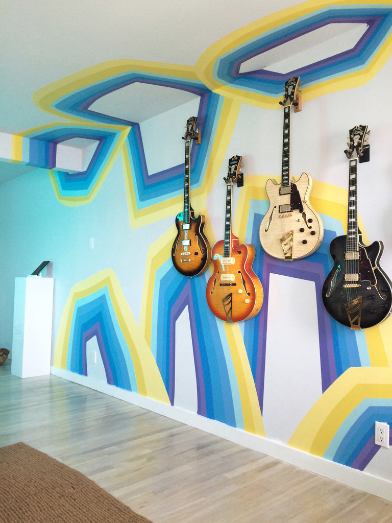 Mural - Surf Lodge for Google