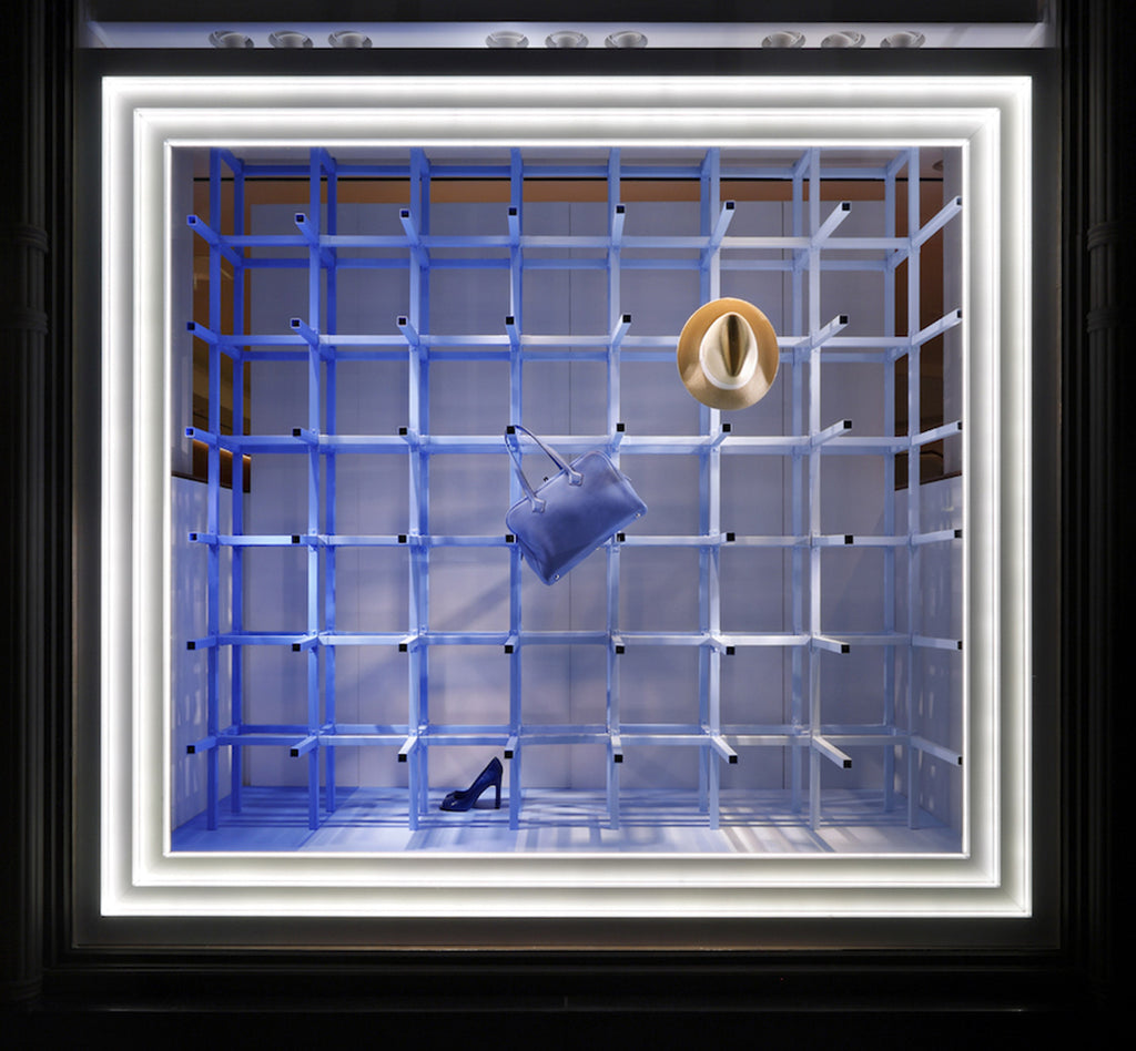 Hermès Window Installation