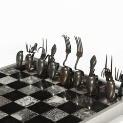 Hungry Chess Set: Medieval Warfare Edition