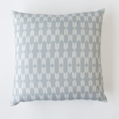 INVERTED ARROWS PRINT PILLOW IN FOG