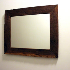 Large Walnut Mirror