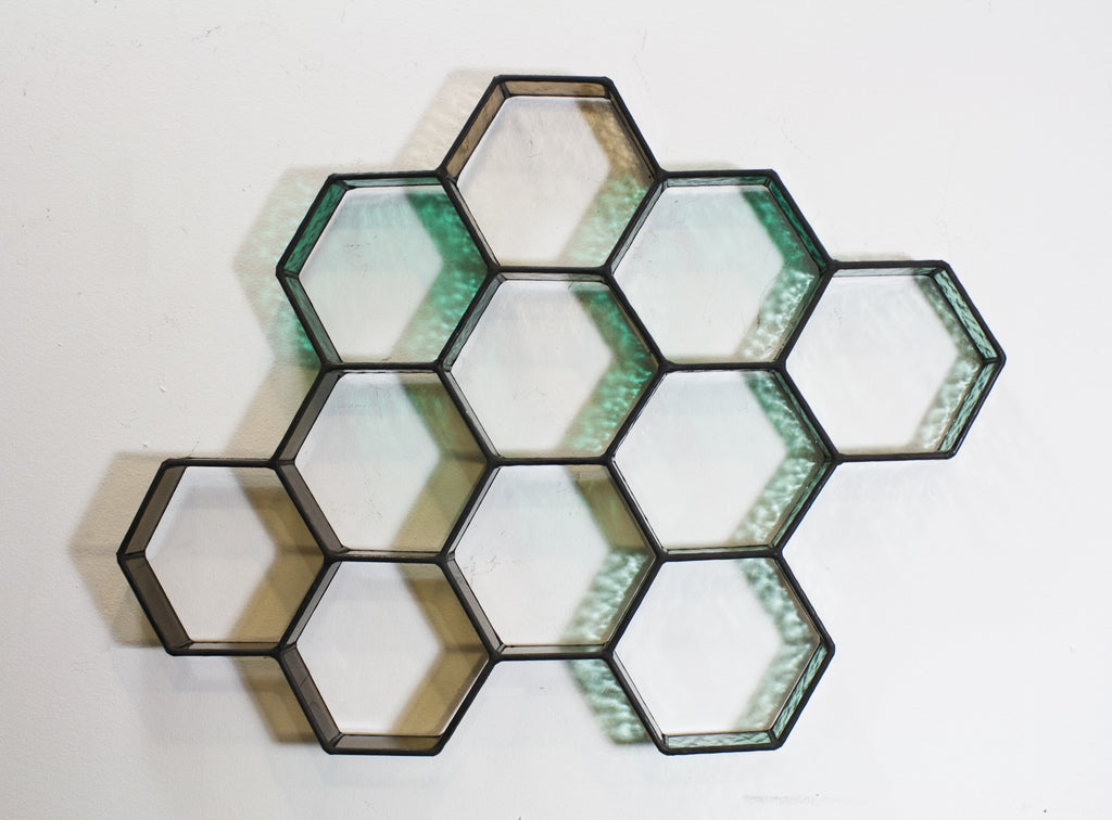 Mini Hex Wall Piece
