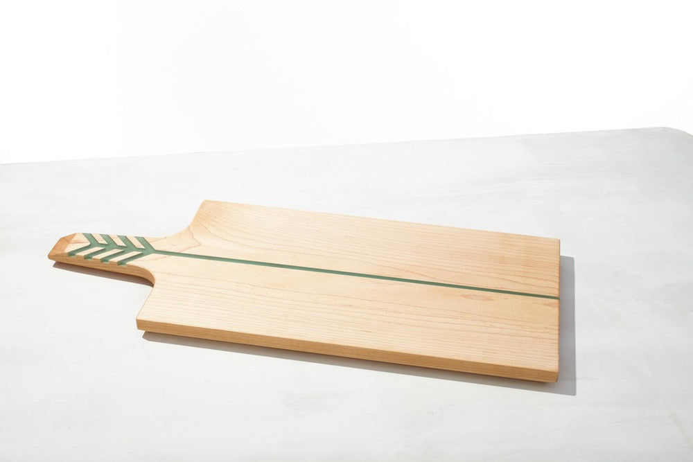 Arrow Board Maple/Green