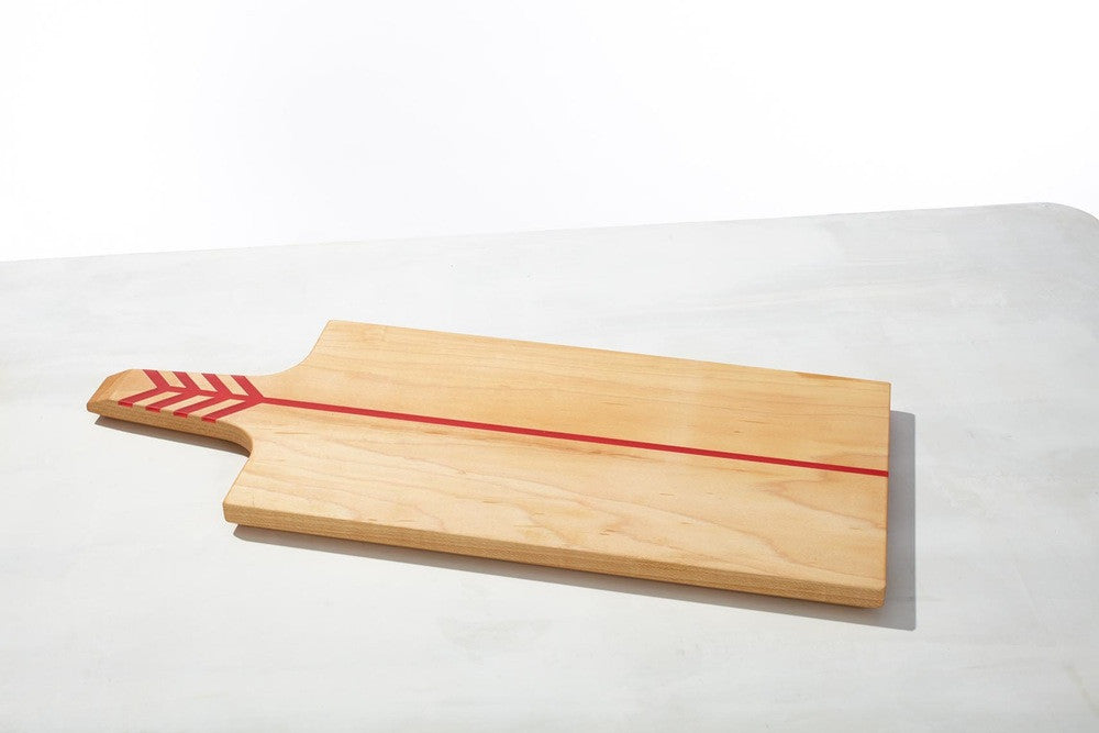 Arrow Board Maple/Red