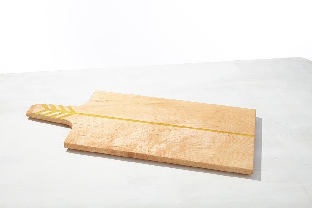 Arrow Board Maple/Yellow