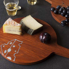 Swiss Cheese Board- Cherry