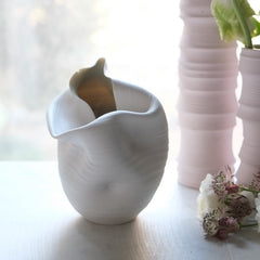 CASPER VASE, WARM WHITE, #518