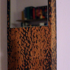 Sapele Rectangular Mirror
