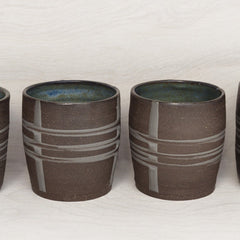 Banded Juice Tumblers