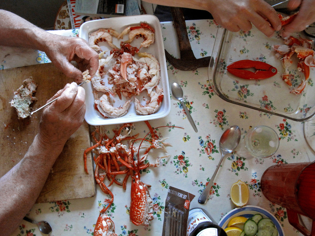 Crab And Lobster Dinner, Sutherland, Scotland