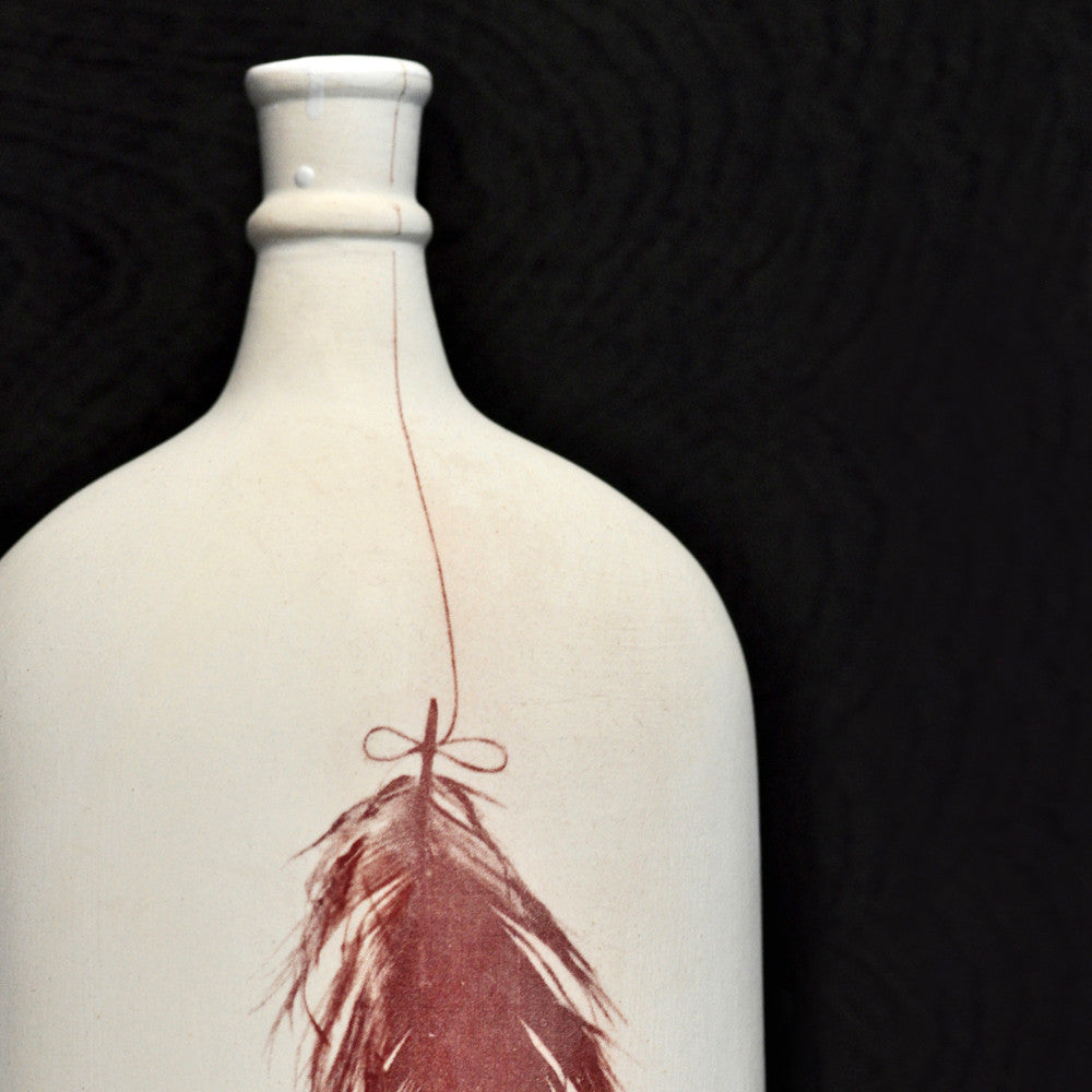 Feather Bottle