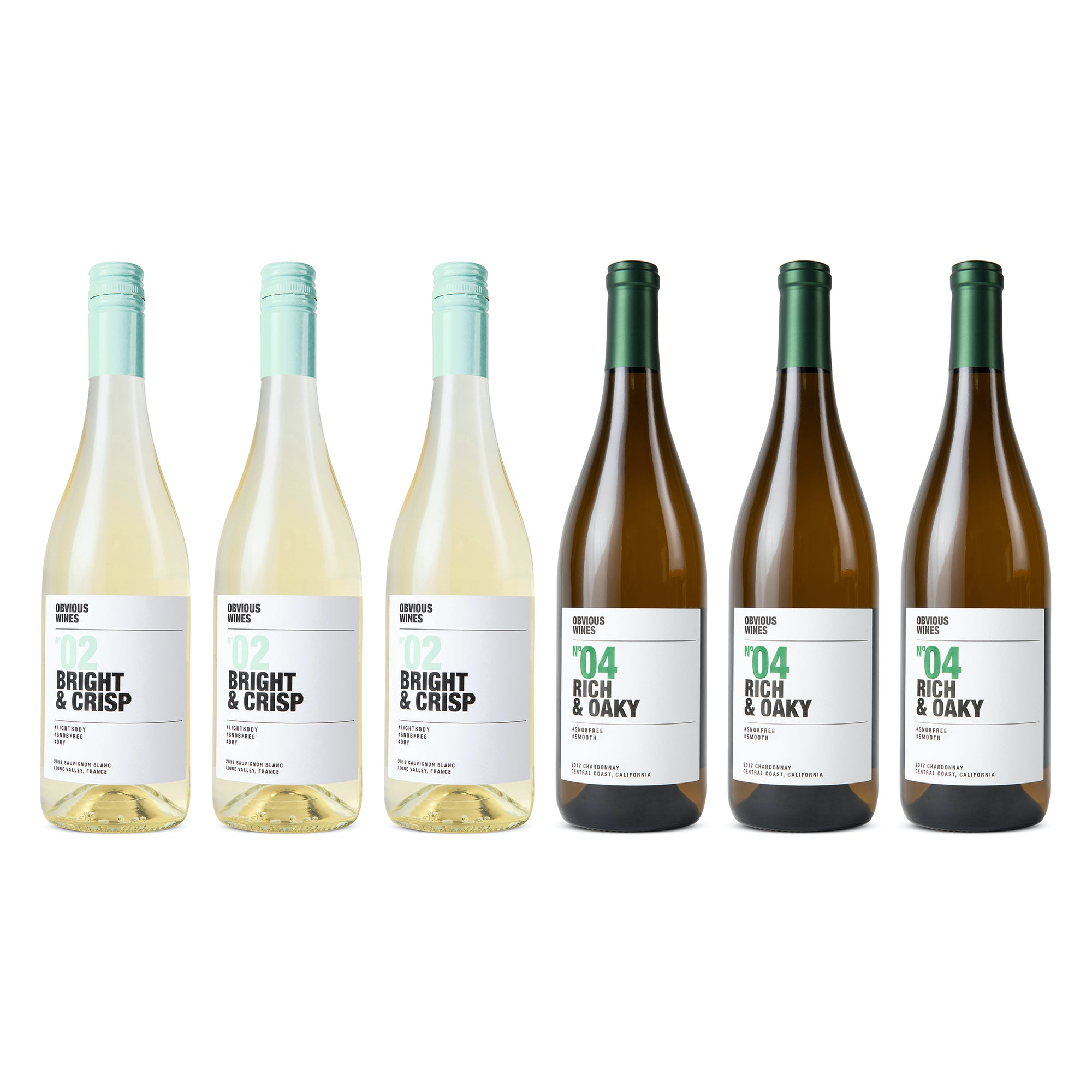 Pack: White Wines (6 bottles)