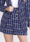 Short de Tweed Azul - Lizzi