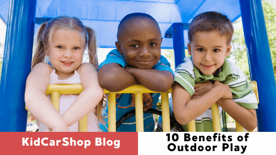 10 Benefits of Outdoor Play for Kids
