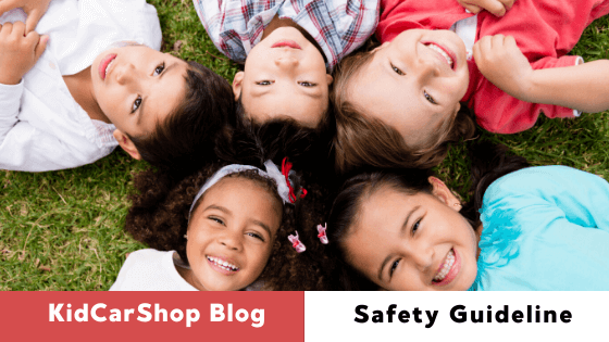 KidCarShop Safety Guideline