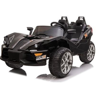 MotoTec Slingshot 12v Kids Ride-On Car with Remote Control and EVA Wheels