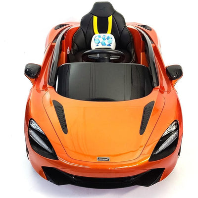 McLAREN 720S 12 VOLT KIDS RIDE-ON CAR with REMOTE CONTROL AND FLYING DOORS