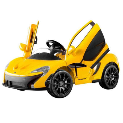 McLaren P1 12v 1-Seater with Remote Control Kids Ride-On Car - FREE SHIPPING