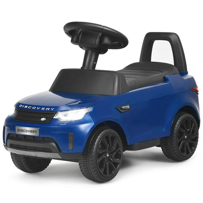2-in-1 6V Land Rover Licensed Kids Ride On Push Car