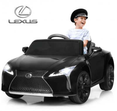 Lexus LC500 1-Seater 12V Kids Ride-on Remote Control Electric Vehicle Car