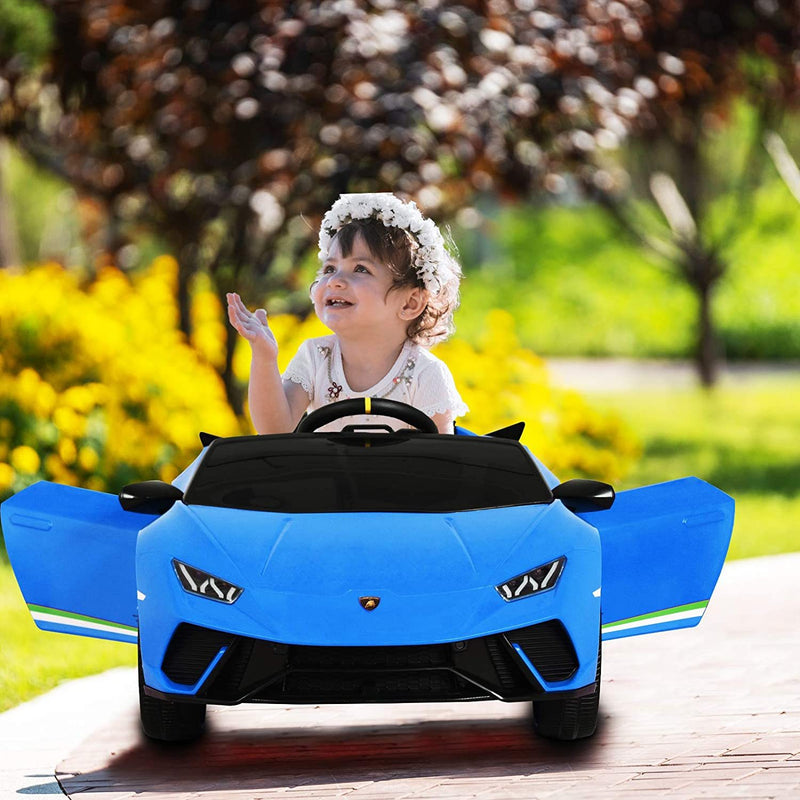 12V Kids Electric Ride On Car Lamborghini Huracán Motorized Vehicles with Remote Control