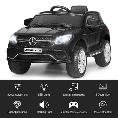 Mercedes Benz GLE 12V Kids Ride On Car with Remote Control - FREE SHIPPING