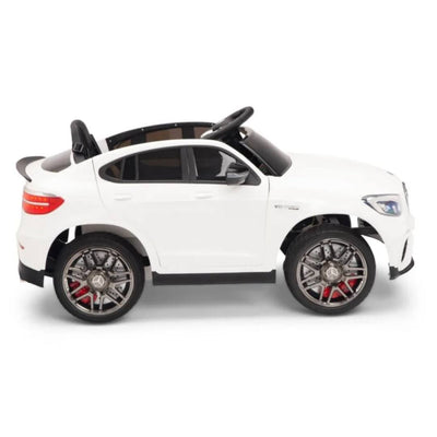 Mercedes-Benz GLC63S 12V 1-Seater Battery Operated Ride On Car with Remote Control USB & MP3