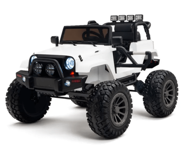 Lifted 24V Super Jeep 1-Seater with Remote Control