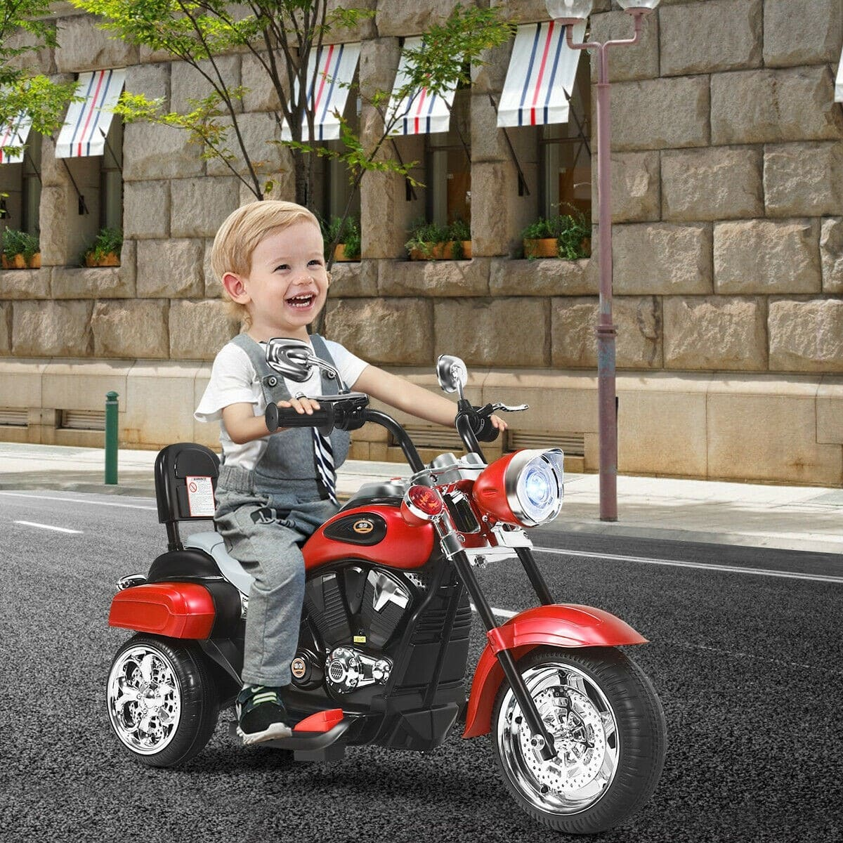 6V 3 Wheel Kids Motorcycle