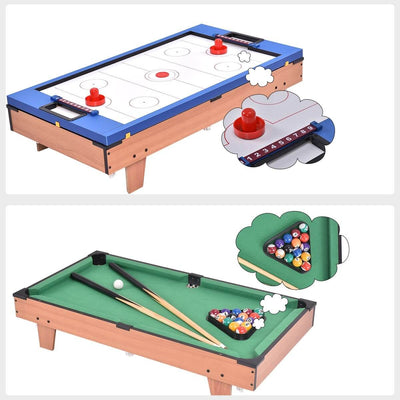 Mini 4-In-1 Multi Game for Kids Foosball / Ping Pong / Air Hockey / Pool Table - FREE SHIPPING