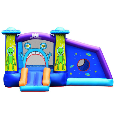Kids Inflatable Bounce House Aliens Jumping Castle
