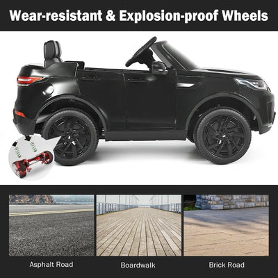Land Rover Discovery 12V Licensed 2-Seater Kid's Ride On Car with Remote Control