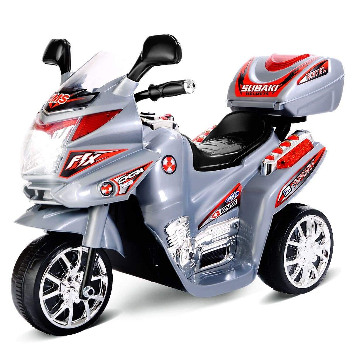 6V 3 Wheels Kids Ride on Motorcycle Motorbike Costway