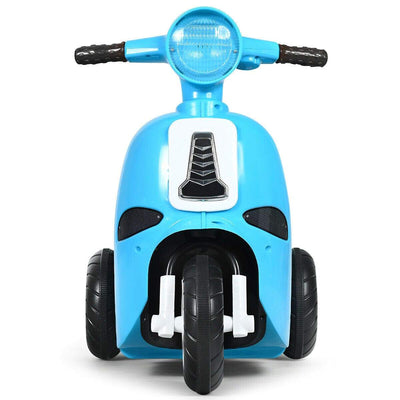 6V Electric Kids Ride on Motorcycle 3 Wheel Scooter Electric Scooter Costway