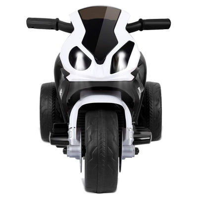 6V Kids 3 Wheels Riding BMW Licensed Electric Motorcycle Motorbike Costway Black
