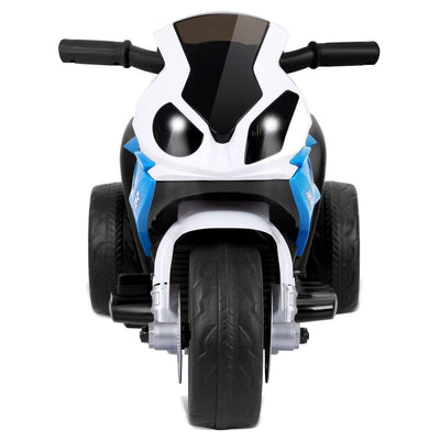 6V Kids 3 Wheels Riding BMW Licensed Electric Motorcycle Motorbike Costway Blue