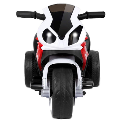 6V Kids 3 Wheels Riding BMW Licensed Electric Motorcycle Motorbike Costway Red