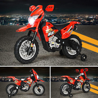 6V Kids Ride-On Motorcycle Electric Battery Powered Bike Motorbike Costway