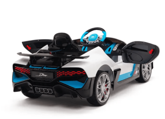 Bugatti Divo 12v Kids Battery Operated Ride On Car with Remote Control
