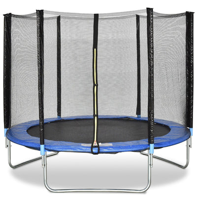 8' Foot Trampoline with Spring Safety Pad