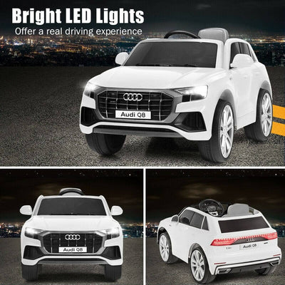 Audi Q8 12V Kids Ride On Car with Remote Control - FREE SHIPPING