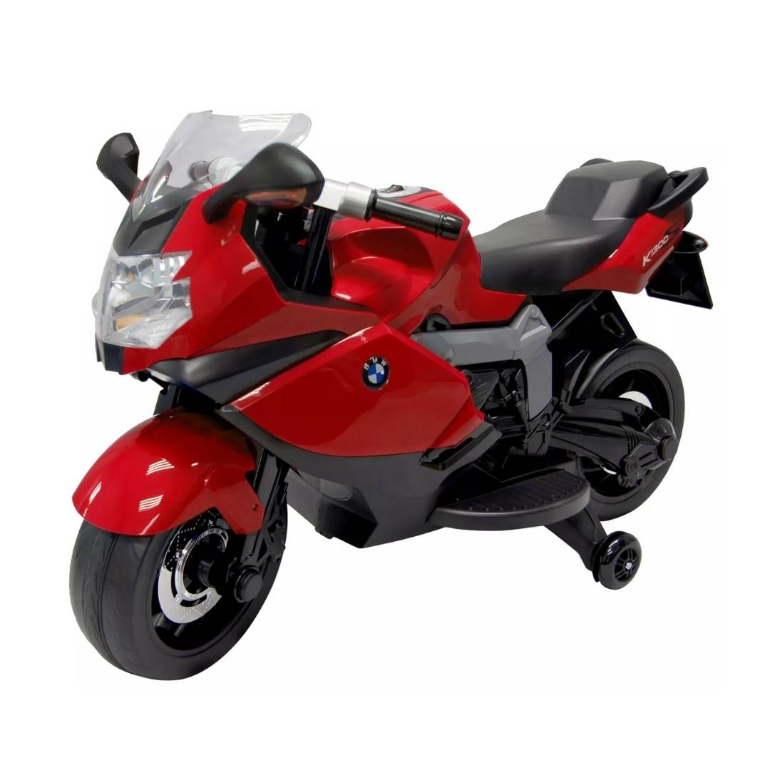 BMW 12v Kid's Ride-On Motorcycle in Red