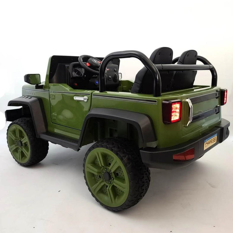 Upgraded Jeep Style 24v with Leather Seats and Wheels