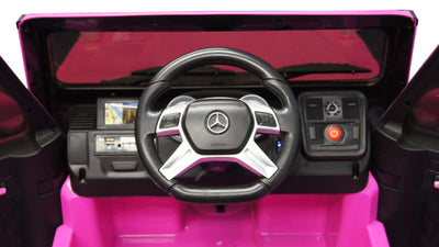 Mercedes Benz G65 AMG SUV Licensed 12v Kids Electric Ride-on Car - FREE SHIPPING