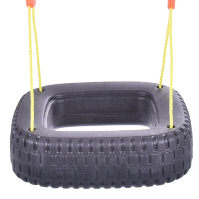 Children Tire Swing Set for 2 Kids