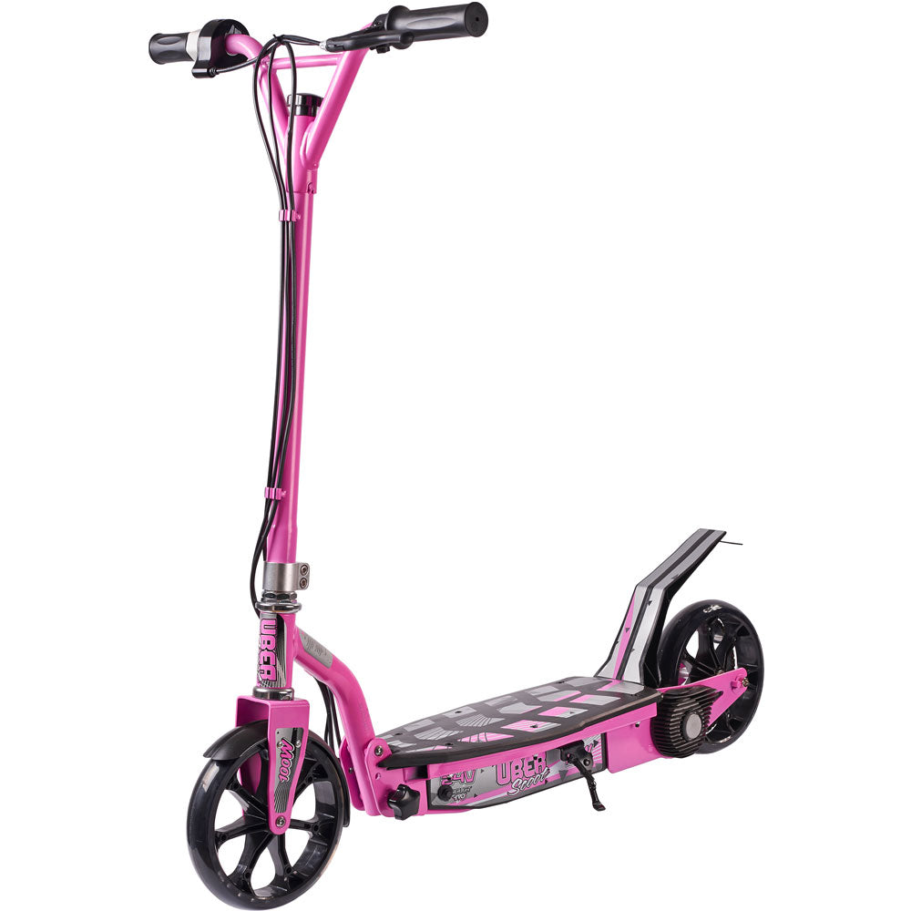 UberScoot Powerboard - 100w Kid's Ride-On Electric Scooter Pink
