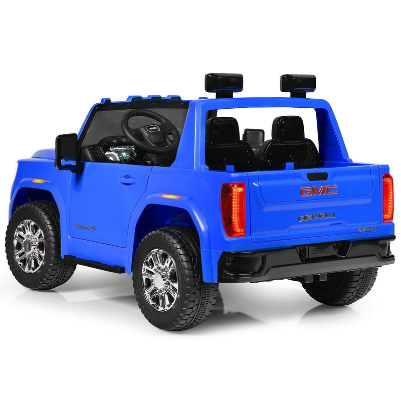 GMC Sierra Denali 12V Kid's Ride-on Car Truck with 2-Seaters and Remote Control