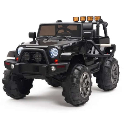 JEEP STYLE BIG WHEELS 12V KIDS ELECTRIC RIDE ON CAR WITH REMOTE CONTROL - FREE SHIPPING
