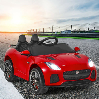 Jaguar F-Type Licensed 12V Electric Kids Ride-On Car with Remote Control